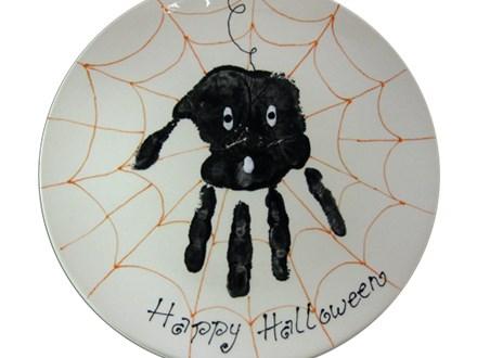 Spider Hand Print Workshop - October 9