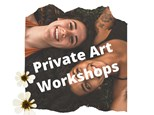 Private Art Lesson - up to 4 participants