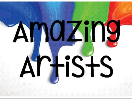 "Summer Camp Week Two   ""Amazing Artists"""