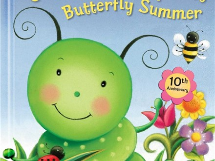 Story Time Art - Caterpillar Spring Butterfly Summer - Evening Session - 07.23.18