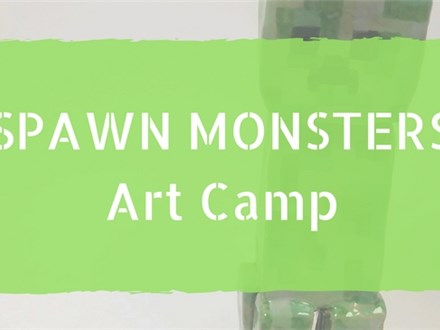 Spawn Monsters (Minecraft) Art Camp