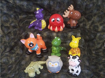 Party Animals Party - $22/painter