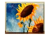 Sunflower Paint Class