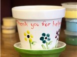Family Pottery - Flower Pot - Evening Session - 04.26.19