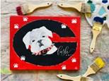 Georgia Pup Paint Class