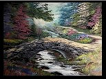 12/15 GA-Watercolor: Teton Winter 10 AM $45