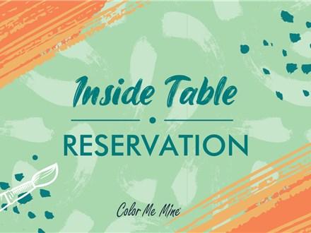 In-Studio Reservation