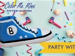 Sneaker Fun Party! (Acrylics only)