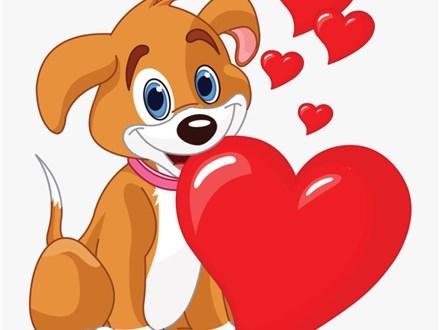 Puppy Love Ceramic & Canvas To Go Kit!