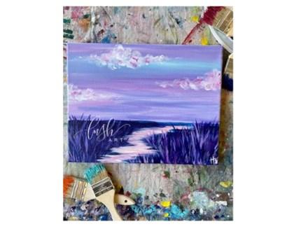 Beach Path VIRTUAL Paint Class