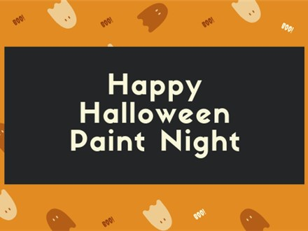 Halloween Paint Night