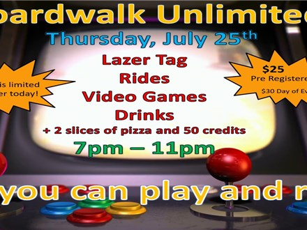 Boardwalk Unlimited Event