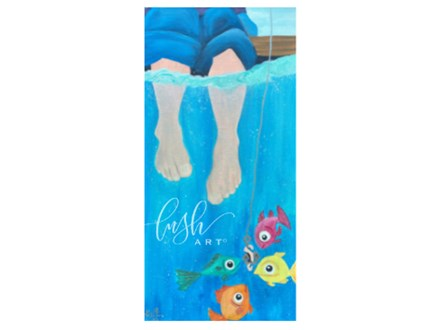 Fishy Feet Paint Class - Perry