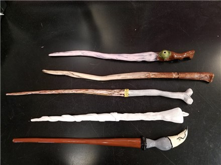 WANDS MADE BY STAFF