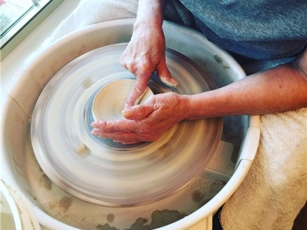 Pottery wheel sessions