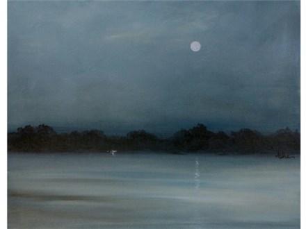 Moonlit Lake (16x20)