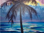 """Hawaiian Sunrise"" Canvas Night, Friday, July 10th 7-10pm"