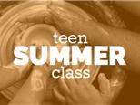Summer Teen Sunday 4-6pm, (JUN 30th - AUG 25th) 2019, TEEN/TWEEN WHEEL THROWING CLASS