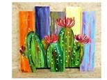 TGIF Paint Night - Cactus Board Art - Friday July 27th