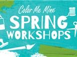 Full Day Art Camp March Break Color Me Mine Bayshore