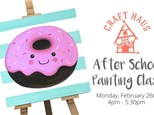 After School Painting Class: Delicious Donut!