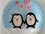 Kid's Ceramic Class - Penguin Love