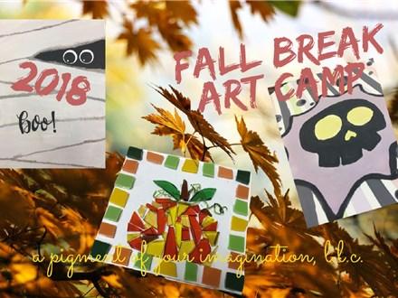 Fall Break Art Camp, October 19, 2018