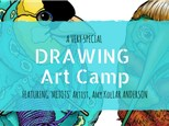 Drawing Camp featuring Amy Kollar Anderson
