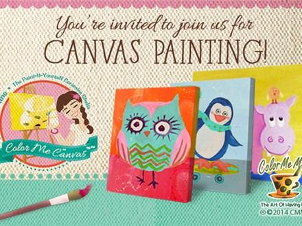 Canvas Party!