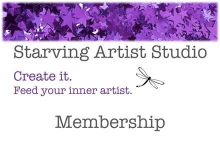 Starving Artist Studio Membership