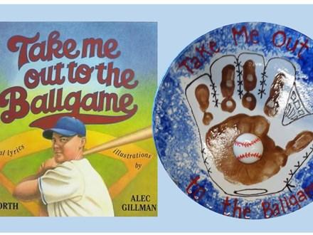 Story time - Baseball Handprint