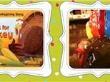 Story time - Clay Handprint Turkeys