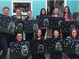 TEEN CANVAS PAINT PARTY PACKAGE