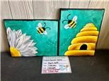 Masterpiece on Main - Kids + Parent Bees - April 30th