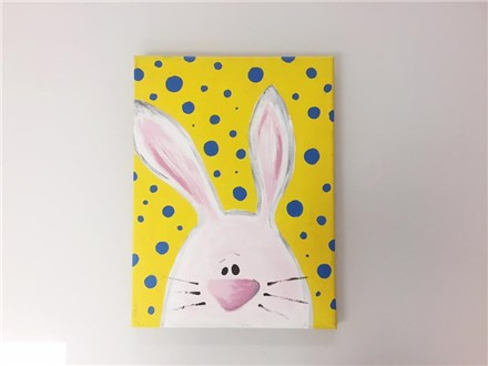 REPEAT Easter Bunny (kids ages 6+) Canvas