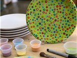 Pottery To Go Dip Dot Polka Dot Kit