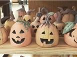 Clay Pumpkin Workshop- Saturday, October 23rd- 10am