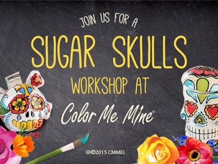 UPDATED: Nov 15th • Sugar Skull Workshop • Color Me Mine Aurora