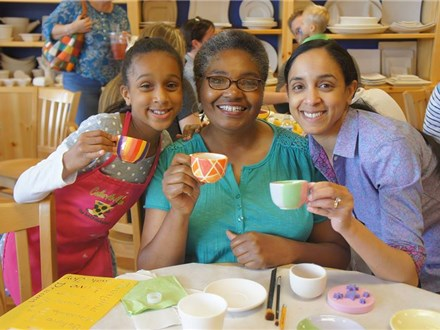 """SOLD OUT ... Mother's Day """"Par - TEA"""" - Sunday, May 9th Celebrate with Mom and Grandma! 11:00am-1:0"""