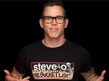Steve-O (Regular Tickets) - November 22-23 - Muskegon