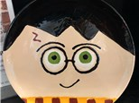 Painting Workshop - Harry Potter Plate