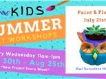 Kids Art Workshop - Paint & Plant 7/21
