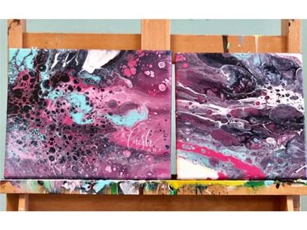 Pour Painting Class