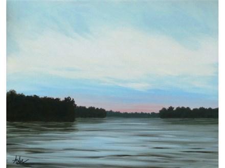 Savannah River Sunset