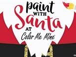 Paint with Santa!