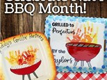 National BBQ Month Painting - May 5