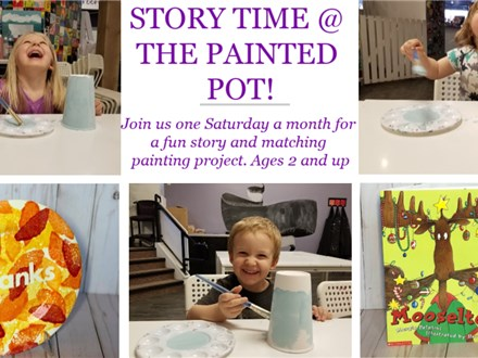 Story Time at The Painted Pot