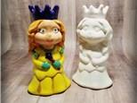 Sweet Princess Figurine - Ready to Paint