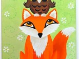Art Club: Canvas Woodland Fox and Owl