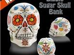 """ Sugar Skull Biggy Bank"" To-Go Kit-  at Color Me Mine - Aspen"